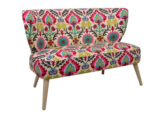 One Kings Lane floral Maven Settee