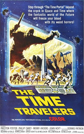 Poster - The Time Travelers (1964)