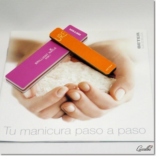 Lima y Pulidor de uñas de Beter