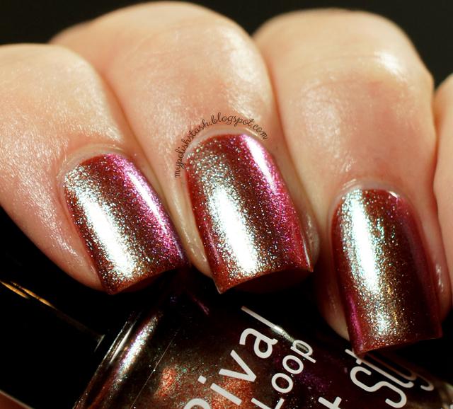 rival de loop multichrome nail polish