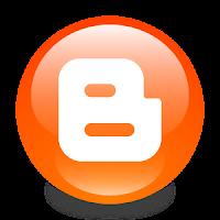 Logo Blogger, salah satu penyedia layanan blogging gratis yang dimiliki oleh Google - Cara Mudah Membuat Blog di Blogger. (Gambar tak terlihat? Klik kanan tulisan ini, lalu pilih 'Reload Image')