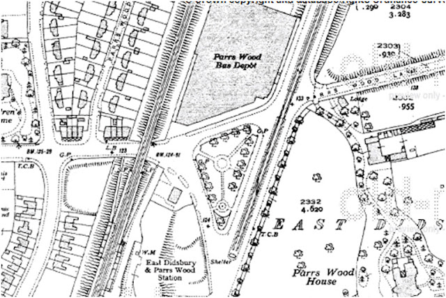 1935 map of Parrs Wood