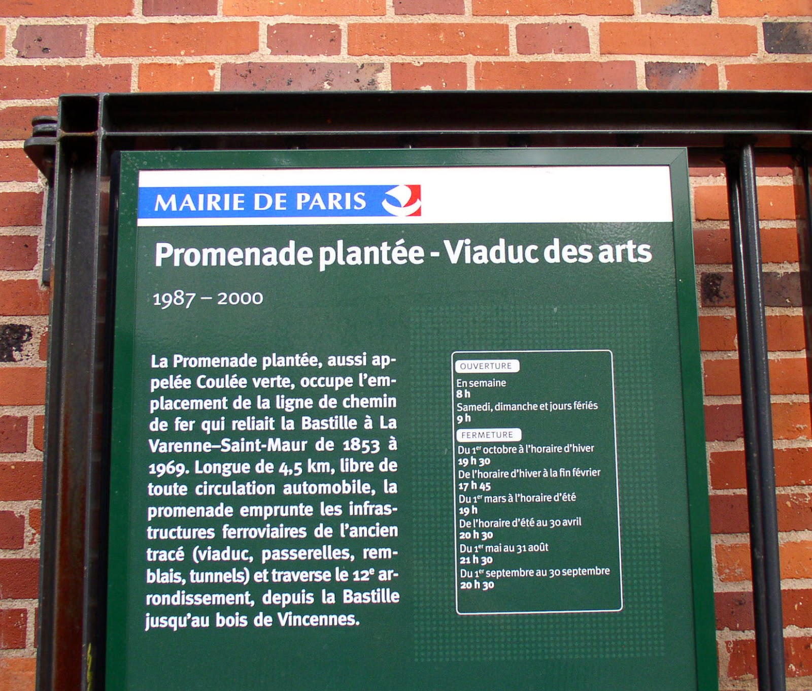how to get to promenade plantee