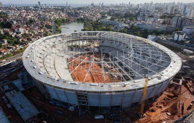 Arena Fonte Nova será uma das mais bonitas da Copa de 2014
