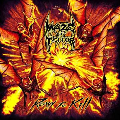 "MAZE OF TERROR: Ακούστε το ""Lycanthropes"" απο το επερχόμενο ντεμπούτο album τους"