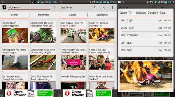 Aplikasi download video android
