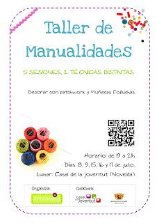 CARTEL TALLER DE MANUALIDADES 2