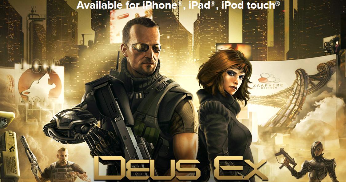 Deus Ex: The Fall 殿堂級科幻電影遊戲 App 限時免費下載