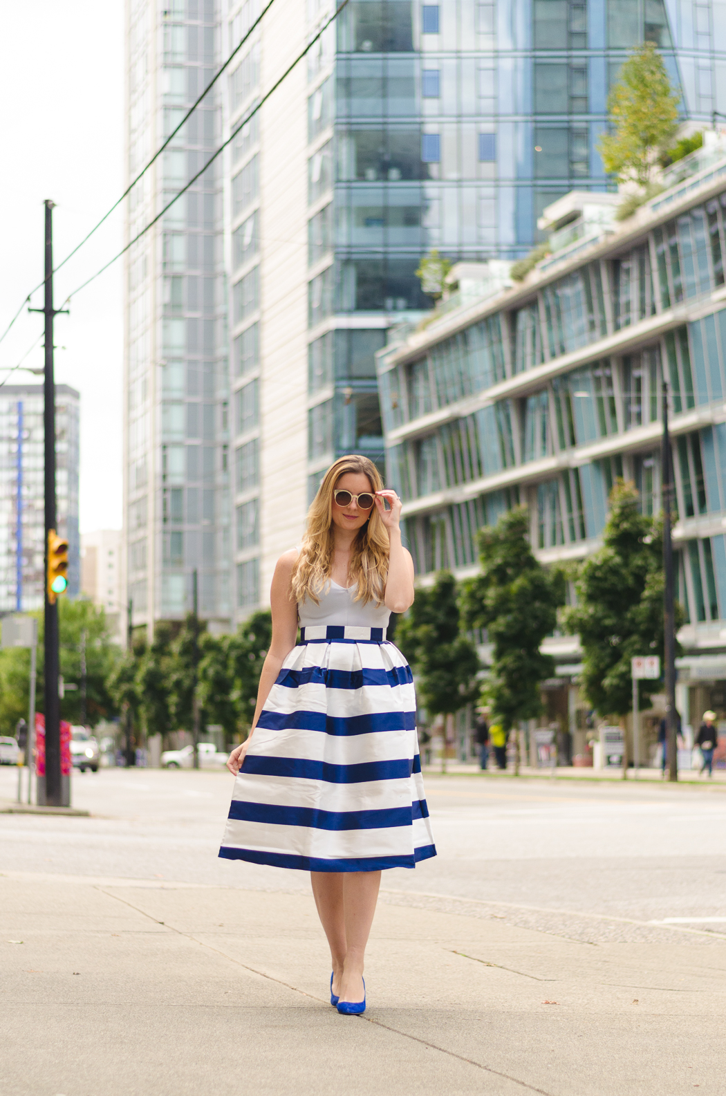 How to Style a Midi Skirt » Vancouver Style & Beauty Blog