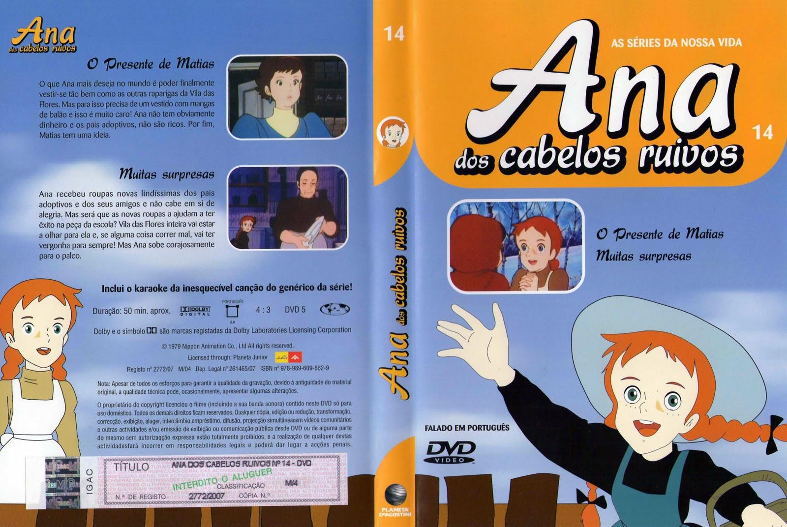 Ana dos Cabelos Ruivos Vol.1 A 25  PT-PT Ana+dos+Cabelos+Ruivos+Vol.14-capa