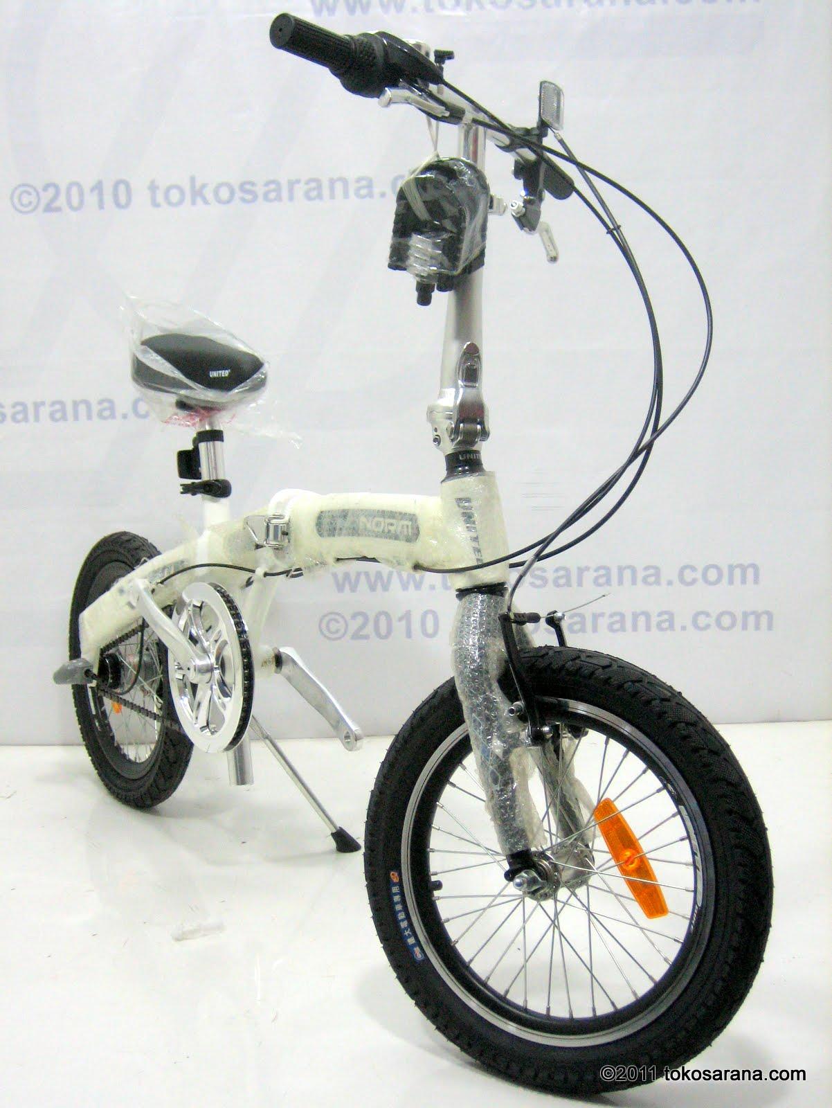 BINTANG HARAPAN: Sepeda Lipat UNITED NORM 3 Speed Shimano