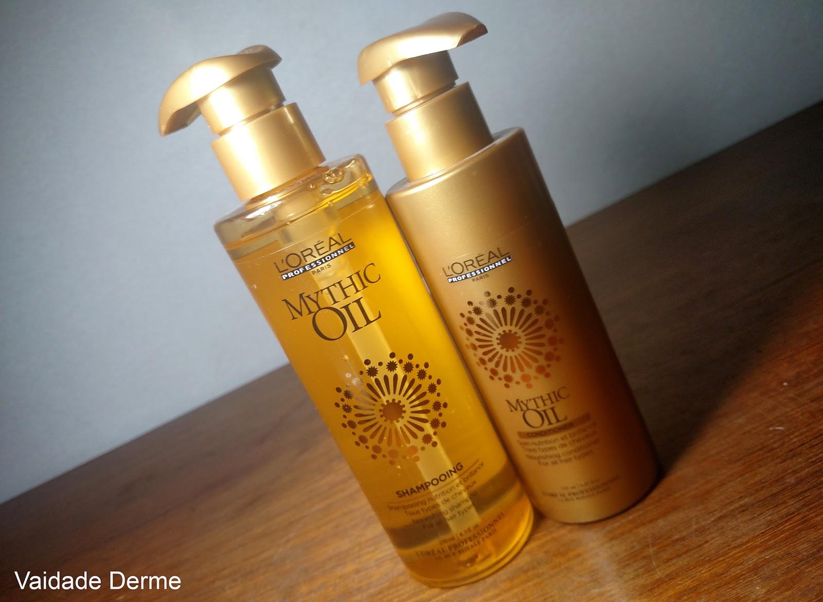 L'Oreal Profissional Mythic Oil Shampoo e Condicionador