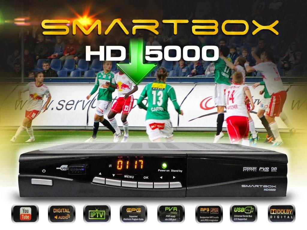 SMARTBOX HD 5000 NOVA ATUALIZAÇÃO - 21/04/2014