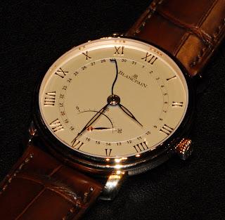 Montre Blancpain Villeret Ultraplate Date Petite Seconde Rétrograde référence 6653Q-3642-55B