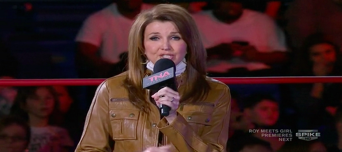 TNA President Dixie Carter and the