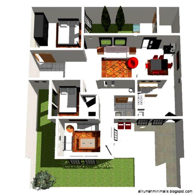 desain rumah minimalis dan denah design rumah minimalis