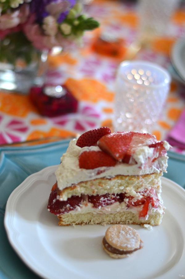 Food Strawberry Shortcake Mimosa Lane