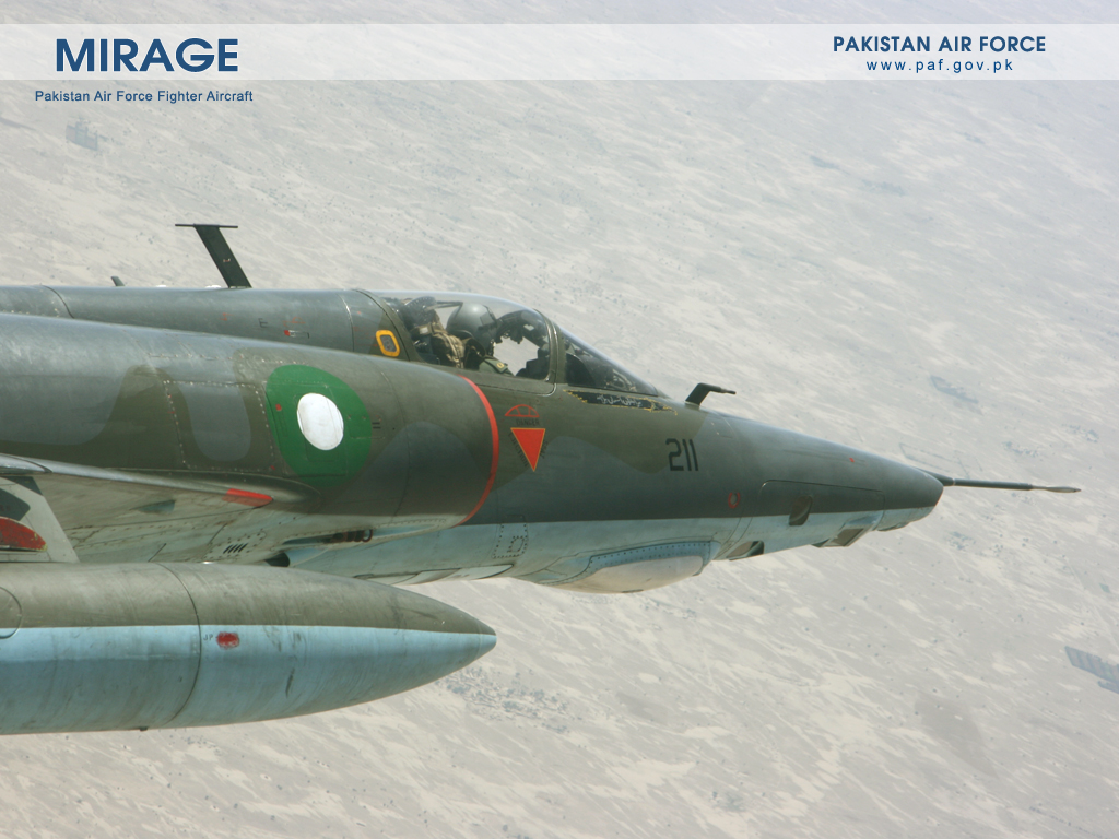 Pakistan Air Force Mirage-1 Aircraft Wallpaper