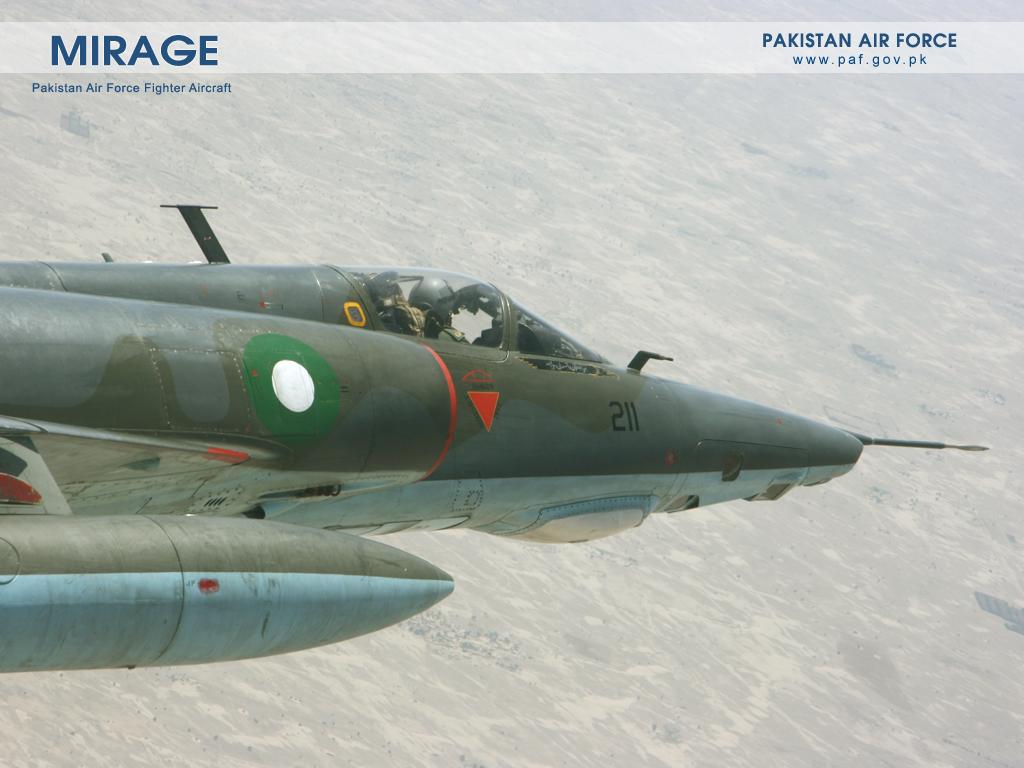 Pakistan Air Force Mirage-1 Aircraft Wallpaper
