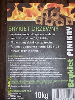 Brykiet drzewny PiniKay