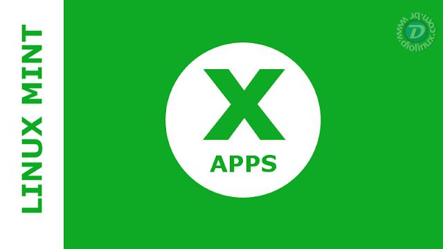 Linux Mint X Apps