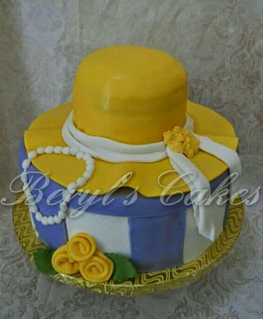 Beryls Cakes Ladies Church Hat Cake