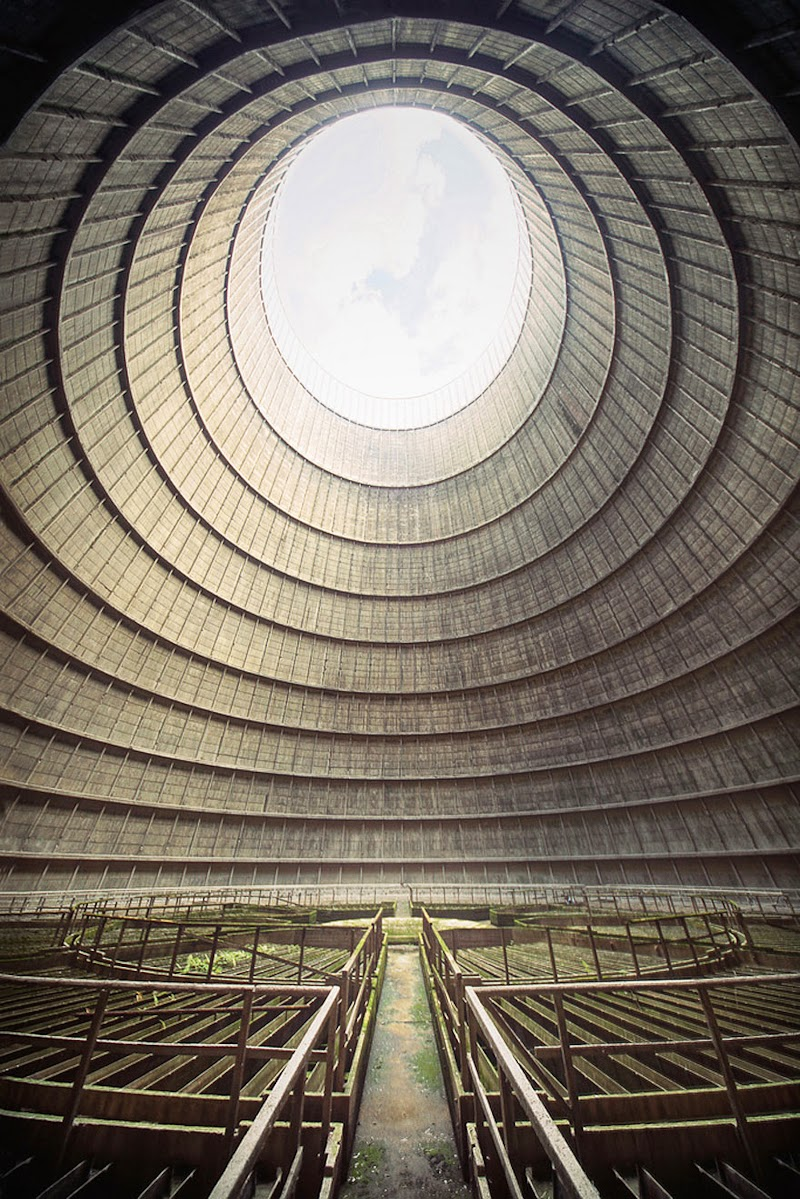 1. I.M. Cooling Tower, Belgium - 31 Haunting Images Of Abandoned Places That Will Give You Goose Bumps