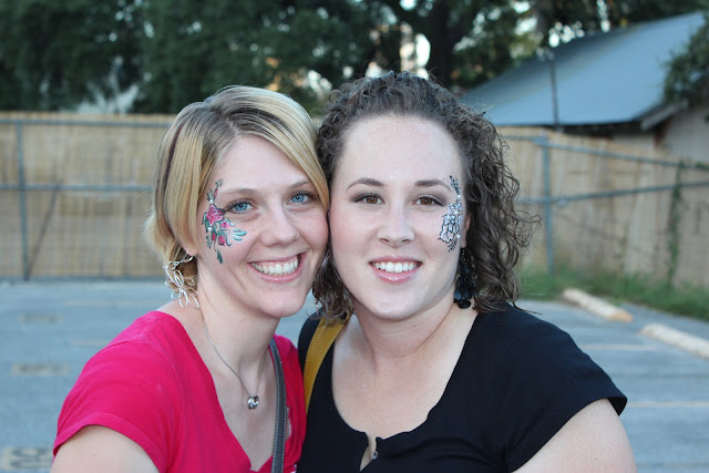face paint patterns for women, lady face paint, sophisticated face paint