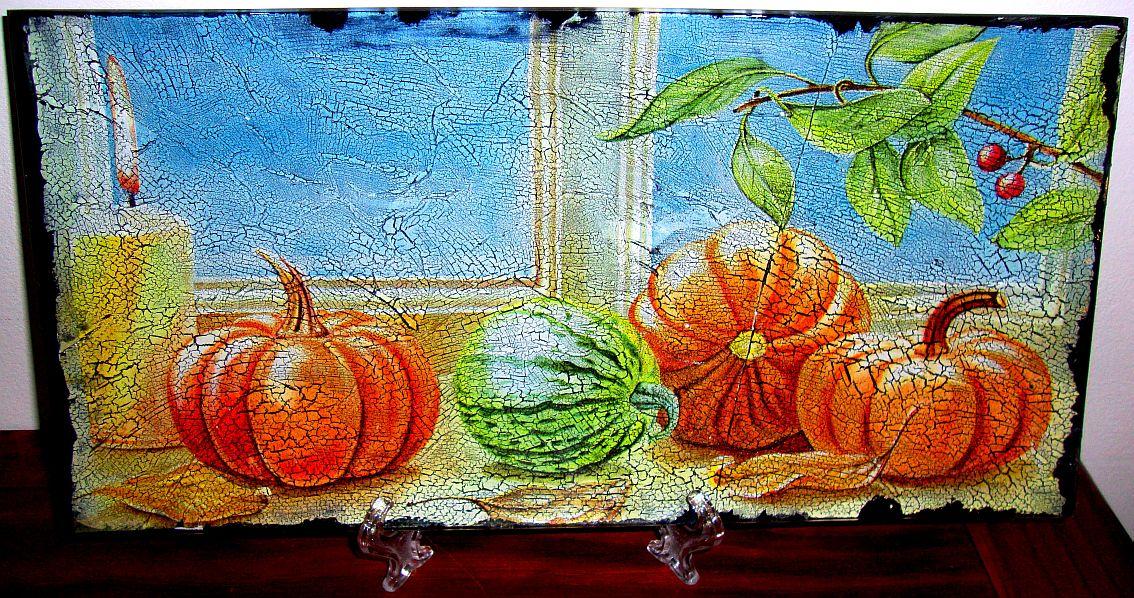 Arte e prendas para dias de festa natal crian a m e - Pintura para craquelar ...