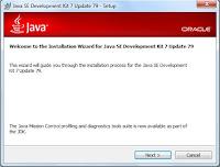Sebelum install android studio, dipastikan pc anda sudah terinstal java development kit (JDK).