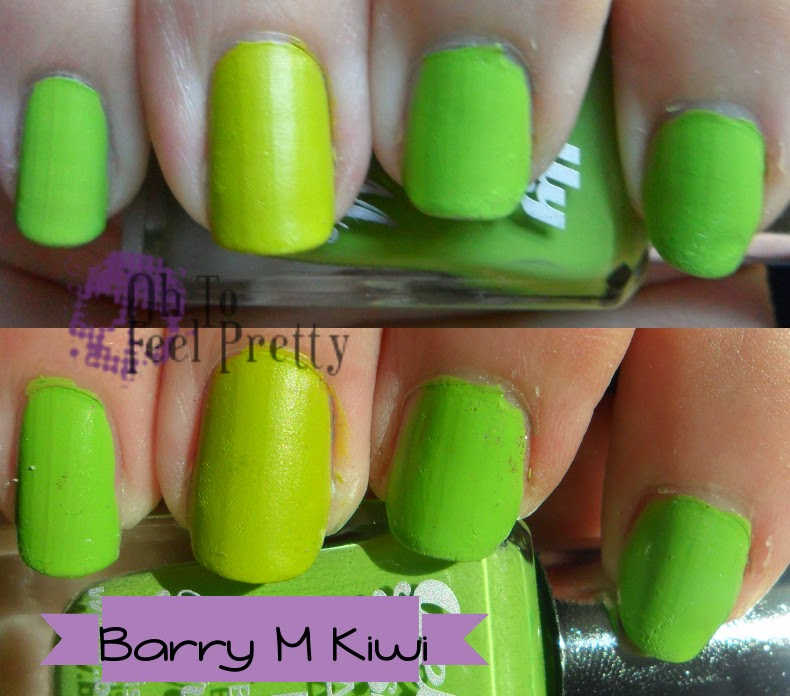 Barry M Key Lime