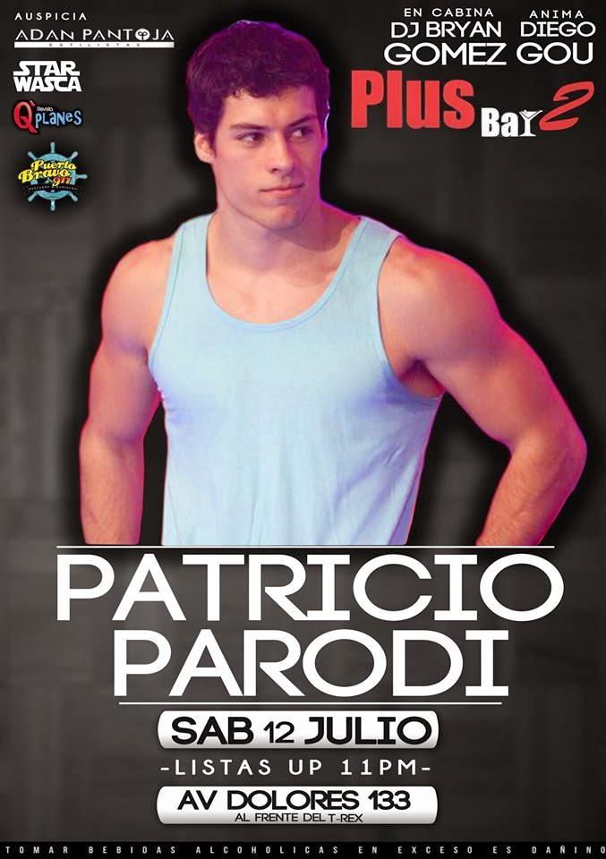 Patricio Parodi en Arequipa - 12 de julio