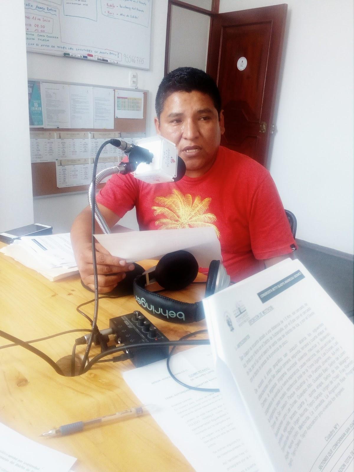 Proyecto de Ley para la creación del distrito de San Joaquín