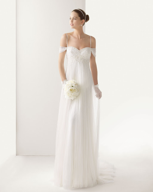 Vestido de novia vintage Rosa Clarà