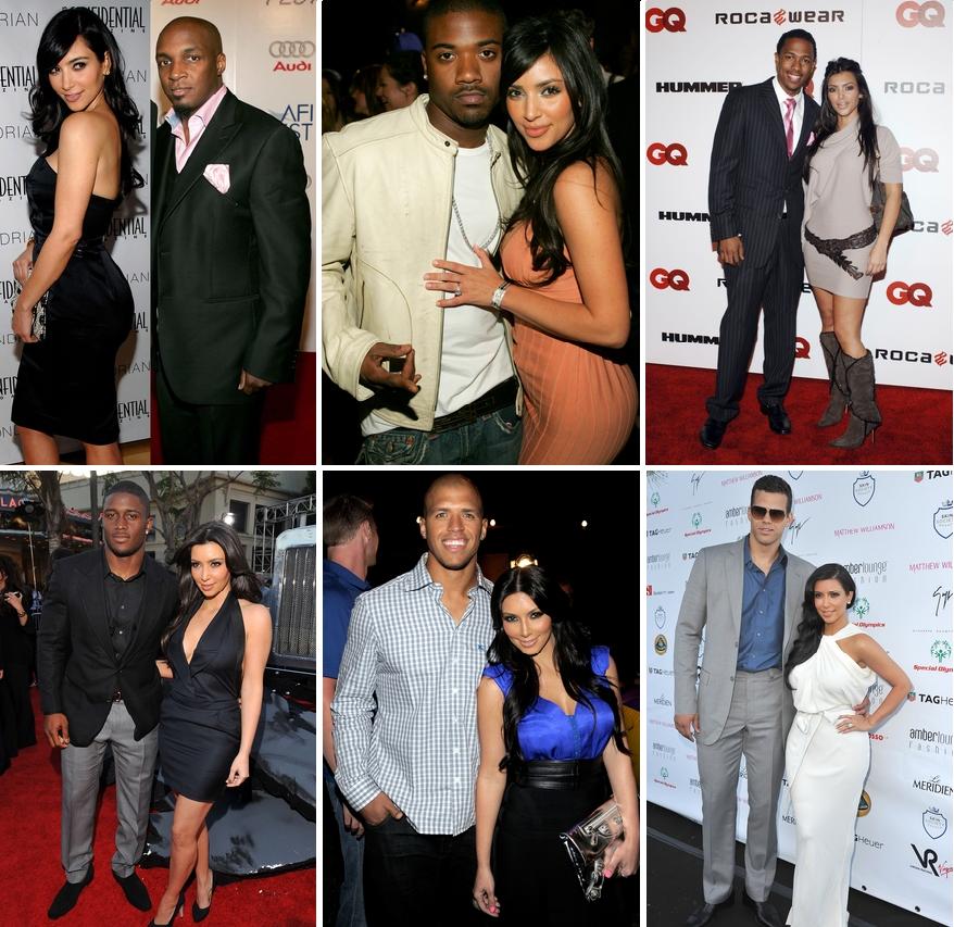 kim kardashian boyfriend list