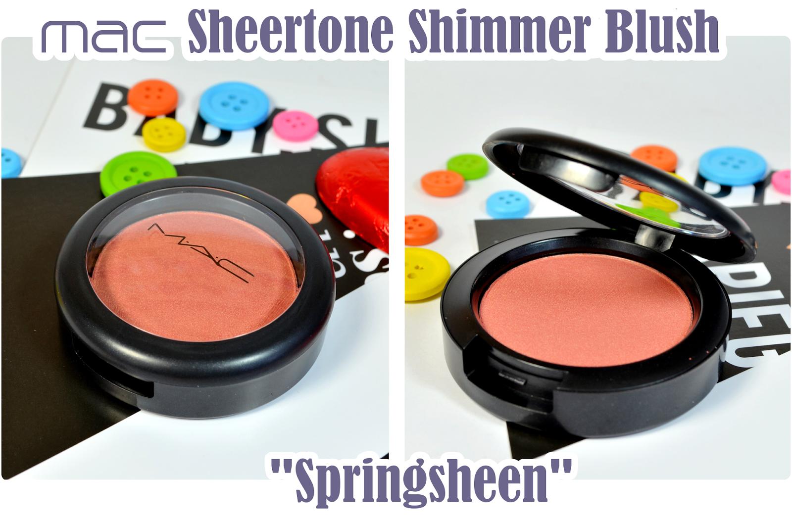 My Style Hit Bronzegeschenk - MAC Blush SPRINGSHEEN