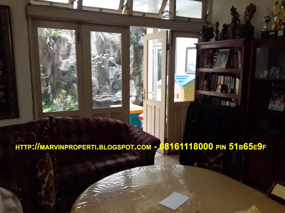 Rumah Dijual di jalan bojonegoro menteng Jakarta pusat ruang keluarga januari 2015