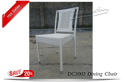 DC2002 Outdoor Wicker Dining Chair