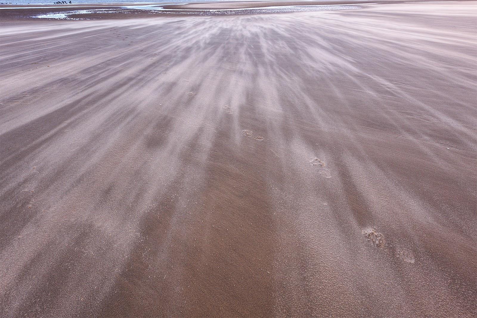 Sabbia che vola