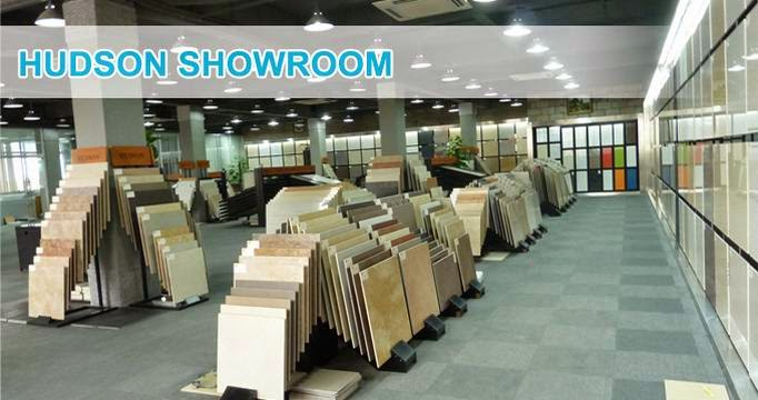 hudson china`s showroom