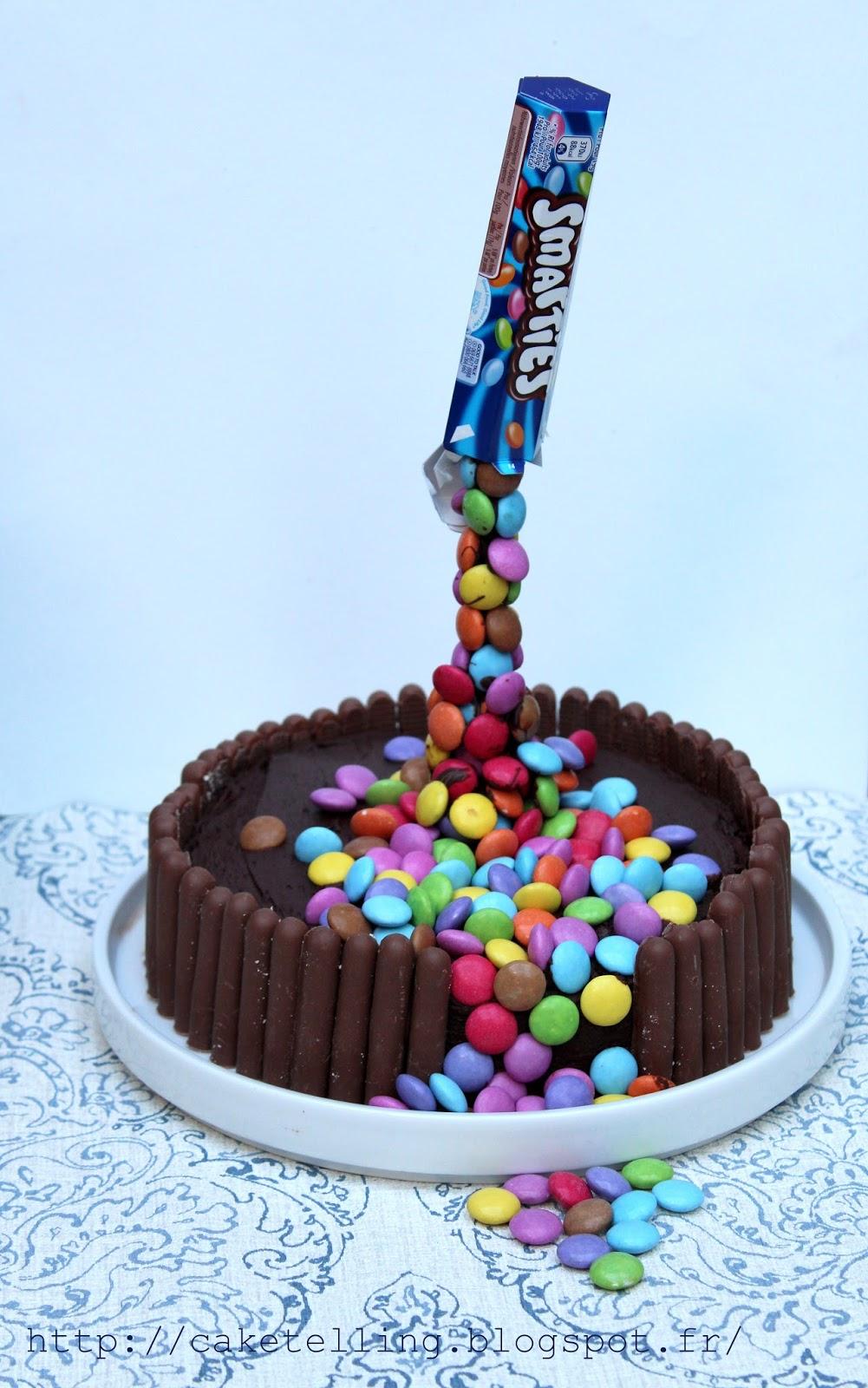 Caketelling le d fi du gravity cake - Gravity cake noel ...