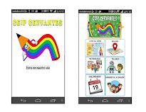APP MÓVIL / TABLET - CEIP Cervantes (Android)