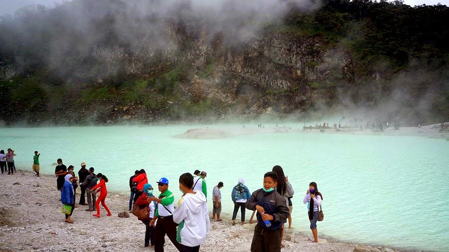Panorama Kawah Putih Ciwideuy