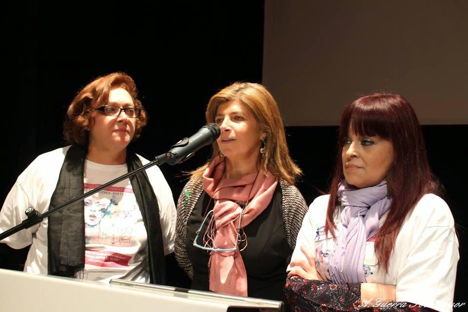 Cerrando el 5º festival Grito de Mujer, Jerez