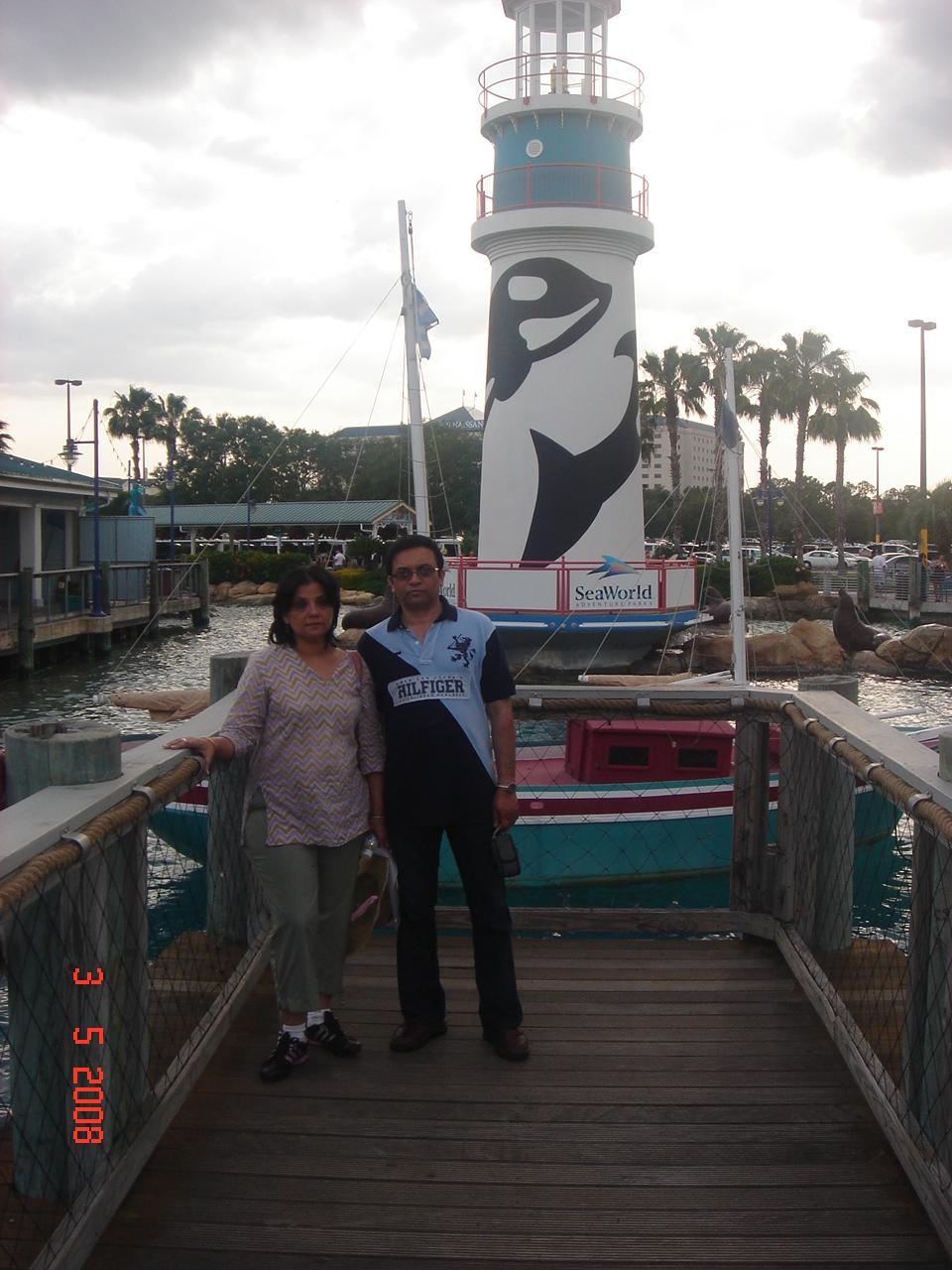 Lighthouse at Sea World,Orlando