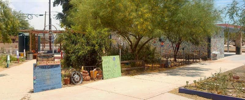 The Tucson Murals Project Borton Community Garden