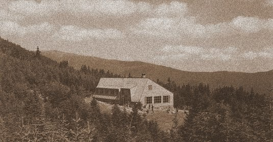 Mizpah spring hut, Crawford Notch, NH