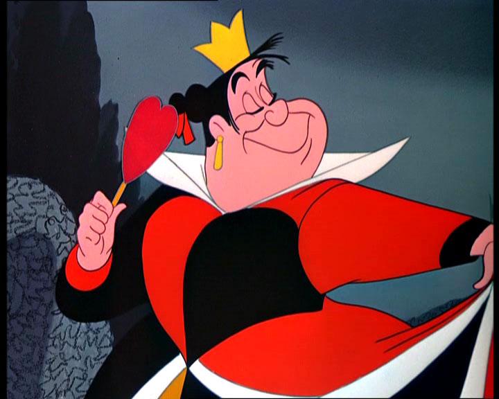 queen of hearts, disney queen of hearts, disney villain