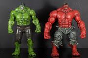 Red Hulk, MS Avengers Hulk, FaceOff Hulk
