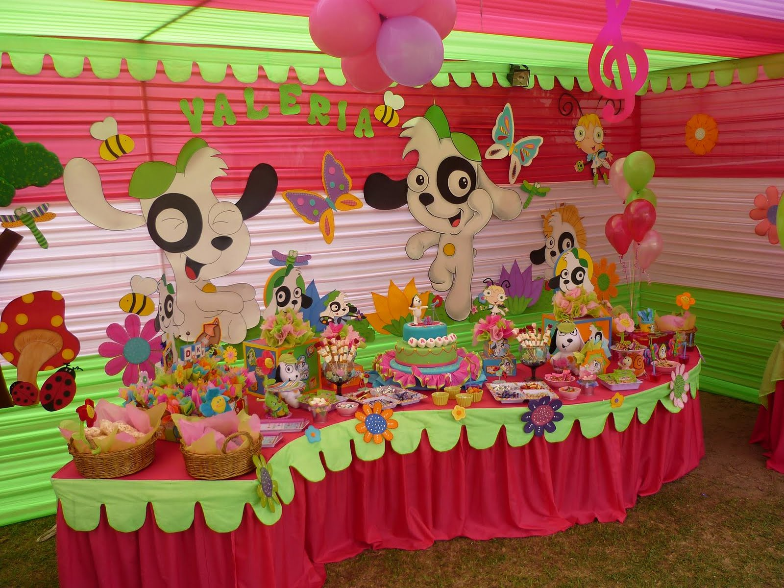 Dulce chocolate en capital federal catering for Decoracion mesas infantiles